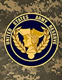 United States Army Reserve: Reserve or National Guard Military Monthly Undated Budget Planner