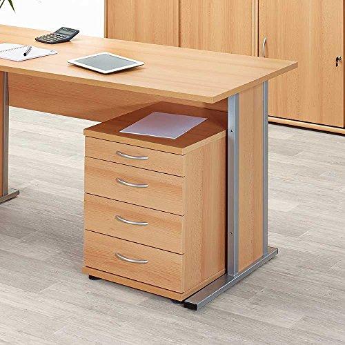Pharao24 Anstellcontainer in Buche für Büro