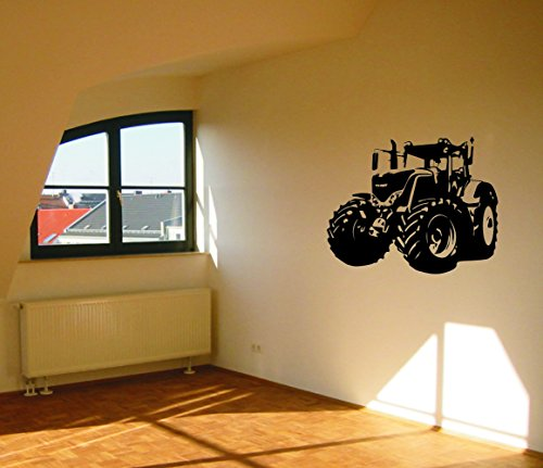 Wandtattoo: FENDT 900 // Farben- und Größenwahl (Schwarz - 720 mm x 600 mm)