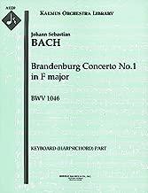 Brandenburg Concerto No.1 in F major, BWV 1046: Keyboard (Harpsichord) part (Qty 2) [A1220]