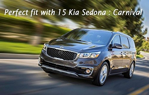 Automotiveapple Sell by autocar21 Tuning 4 Wheel 18'' Carbon Wheel Sticker for 2015 Kia Sedona : All New Carnival