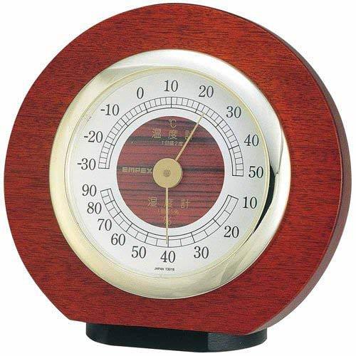 【まとめ 3セット】 EMPEX 温度・湿度・気圧計 トリオ気象計 置用 BM-633