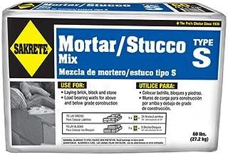 Sakrete 65300024-RDC04 60 lbs. Type S High Strength Mortar Mix