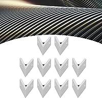 アングルコネクタ、家庭用産業用10個アルミニウムアングルコーナー45°アングルコーナー(4040-45 degrees)