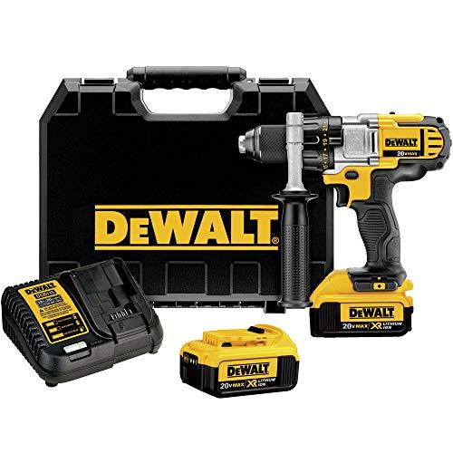 DEWALT 20V MAX Drill/Driver, 3-Speed, Premium 4.0Ah Kit (DCD980M2)