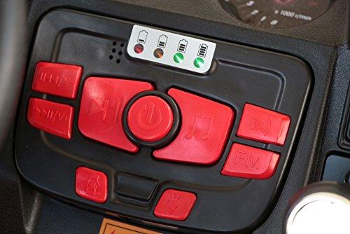 RC Auto kaufen Kinderauto Bild 4: OFFROAD UTV ALLRAD 4x45W 2x12V Elektroauto Kinder Elektro Auto Kinderfahrzeug Ferngesteuert Elektro (Weiss)*