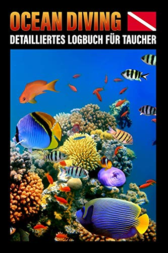 Ocean Diving Detailliertes Logbuch für...