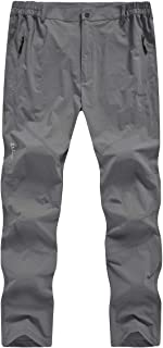 Men's Outdoor Lightweight Quick Dry Pants Workout Breathable Hiking Mountain Pants