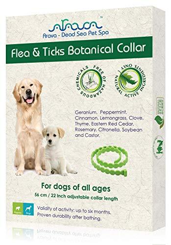 Arava Enhanced Control & Defence flea collar for dogs
