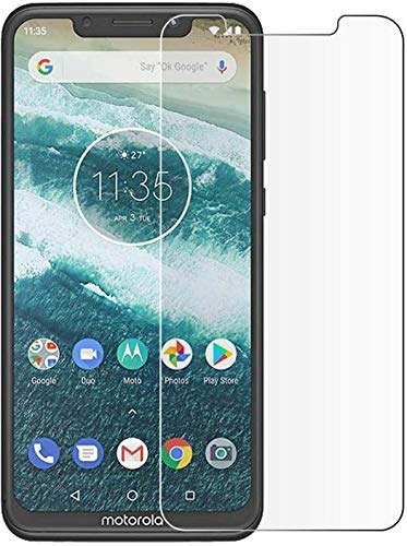 Tuta Tempered Glass with Nano tech Technology 0.26mm Highly Transparency Matte Screen Protector for Motorola One Power (Pack of 1)