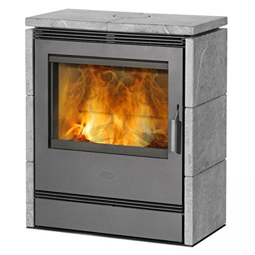 Kaminofen / Dauerbrandofen Fireplace Rönky Speckstein 9/10kW