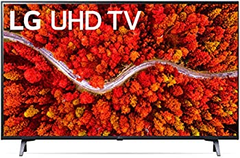 LG LED Smart TV 43  Slim Real 4k UHD TV Enhanced 4K Native 60Hz Refresh Rate Dolby Cinema Voice Commands WiFi Bluetooth Google/Alexa - 2021 Model