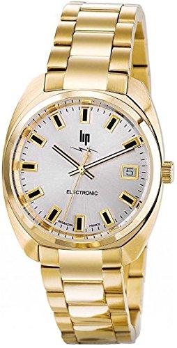 Lip Homme Uhr Analogique QUARTZ mit Métal Armband 671028