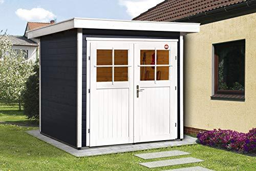 Weka Gartenhaus Vinea Color Größe 1 anthrazit