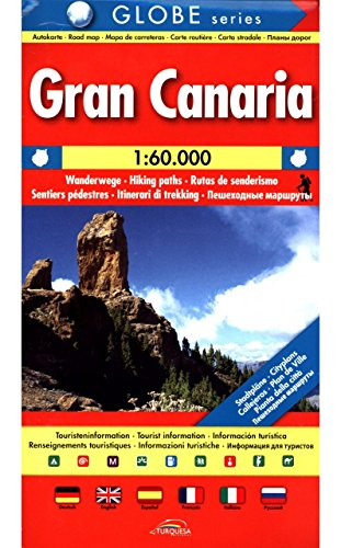 Gran Canaria: Road Map - Hiking Paths - Tourist Information
