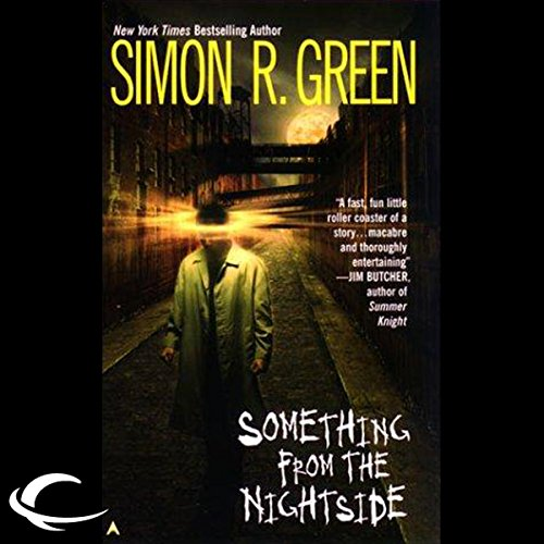 Something from the Nightside audiobook cover art