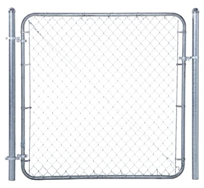 """Fit-Right Chain Link Fence Walk-through Gate Kit (24""""-72"""" wide x 4' high)"""