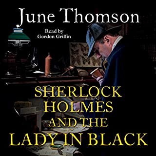 Sherlock Holmes and the Lady in Black cover art