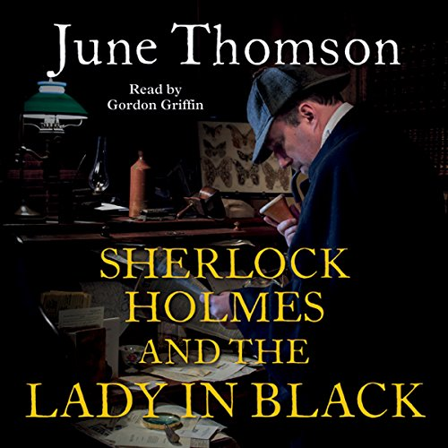 Sherlock Holmes and the Lady in Black audiobook cover art