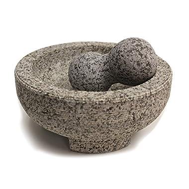 Maxam 8  Granite Molcajete Mortar and Pestle …
