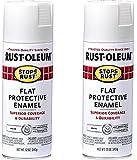 Stops Rust 7790830 Spray Paint, 1 Pack, Flat White #!2 Pack (Flat White)