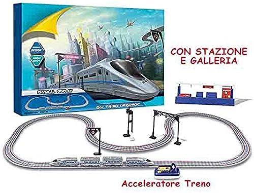 Piste Zug Zug Maxi mit Tunnel und Bahnhof Spielzeug Spiele Bildung Lernen Spielzeug Spiel Idee Geschenk Weißnachten   AG17
