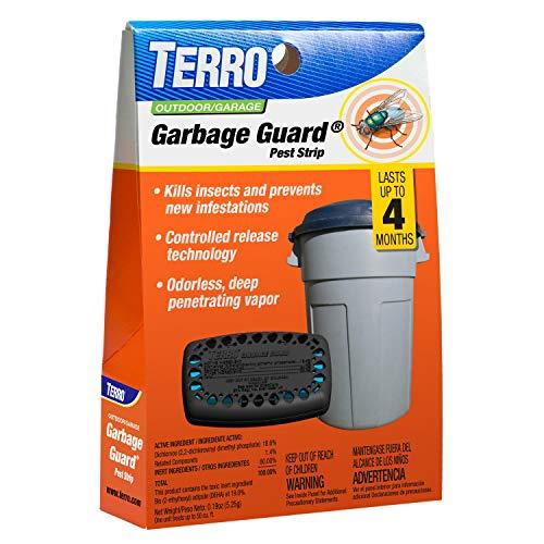 Terro T800 Garbage Guard, Black