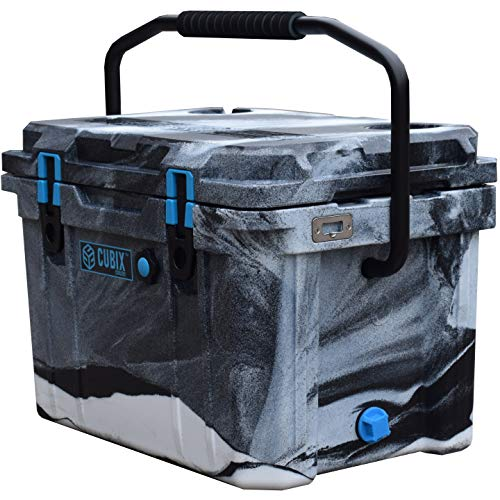Cubix Camo Cooler 20 Quart | Great for Hunting | Ice Chests and Coolers | Lifetime Rotomolded Ice Cooler | Portable and Hard | Camping, Fishing, Travel, Beach and Patio