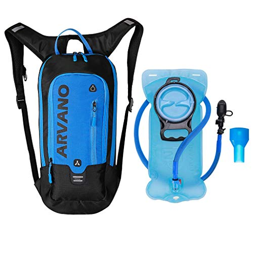Hydration Backpacks, 6L Mini Hydration Pack with 2L Water Bladder...