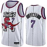 DIMOCHEN Movement Ropa Jerseys de Baloncesto para Hombres, NBA Toronto Raptors 7# Kyle Lowry,Fresco, cómodo, Camiseta Uniformes Deportivos Tops (Size:S,Color:G1)