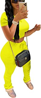 Womens Two Piece Tracksuit Set - 2 Pc Outfits Sweatsuits Jumpsuits