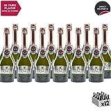 Méthode Traditionnelle Cuvée Fondateur 1927 Rosé Rosé - Maison Perret - Appellation VDF Vin Mousseux - Origine Savoie - Vin effervescent Rosé de Savoie - Bugey - Lot de 12x75cl