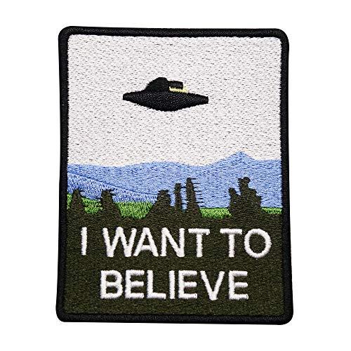 "Finally Home - ""I Want to Believe"", UFO, Alieni - Toppa termoadesiva"