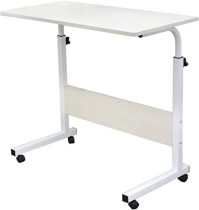 1238 opinioni per DlandHome 80 x 40 cm Tavolino Computer con Tavolino Regolabile in Altezza a