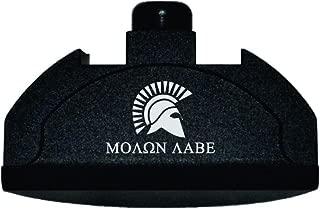 BASTION Laser Engraved Aluminum Grip Frame Plug for Glock fits Gen 4-5 Models G17, 19, 24, 31, 32, 34, 35, 37, 38 - Molon Labe
