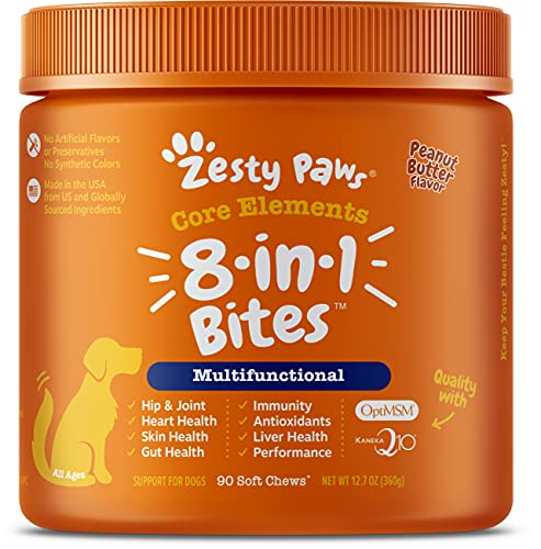 Multifunctional Supplements for Dogs - Glucosamine Chondroitin for Joint Support with Probiotics for...