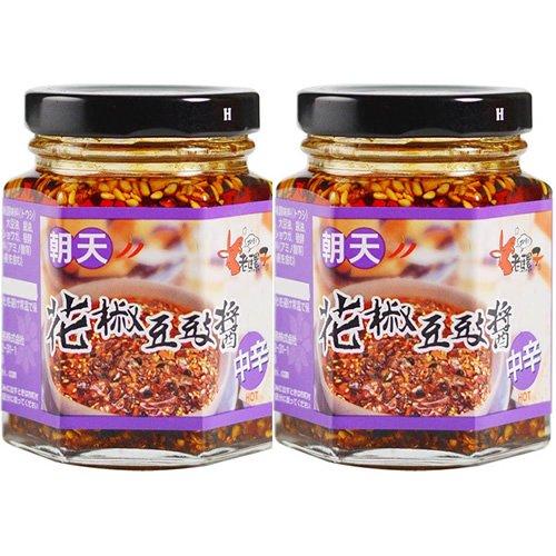 ロウバ 朝天 豆鼓入り山椒ラー油(小) 85g×2個