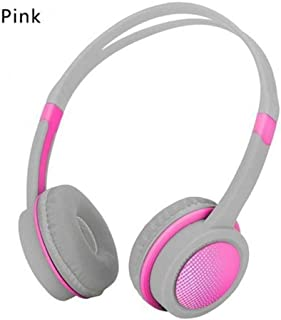 LJLLINGD Girls Cute Wired Headphone Headset Candy Color Children Kids Child Earphone With Microphone For Xiaomi Mp3 Smartphone Headphones