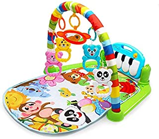 Kaichen Kick and Play Piano Gym, Baby Play Mat Newborn Toy, Lay, Sit and Play, Activity Toys, Game Crawling Mat Activity F...