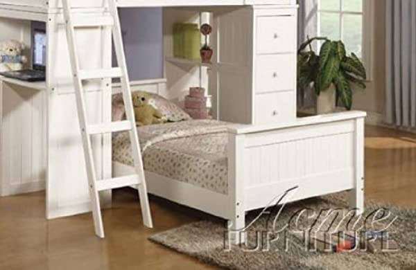 ACME Willoughby White Twin Bed