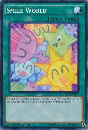 Yu-Gi-Oh! - Smile World (YS16-EN022) - Starter Deck: Yuya - 1st Edition - Common by Yu-Gi-Oh!