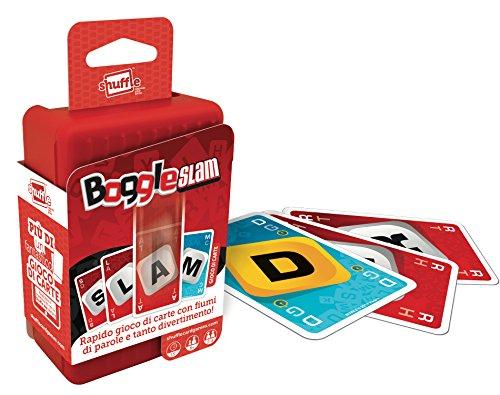Cartamundi SHUFFLE GO by Carte da gioco per bambini, gioco di società, tascabile e da viaggio - Boogle Slam