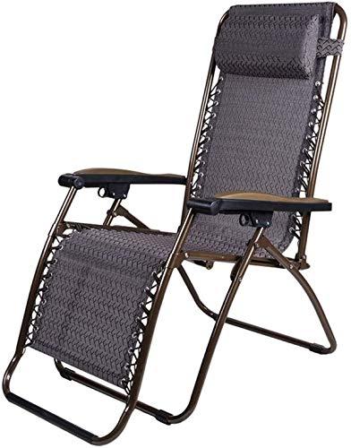 Tumbona de jardín exterior / Sillas reclinables gravedad cero silla de salón de sillones reclinables for Patio reclinable Tumbona de jardín al aire libre Silla del patio de la gravedad silla balancín