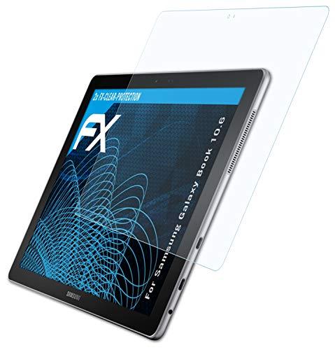 atFolix Schutzfolie kompatibel mit Samsung Galaxy Book 10.6 Folie, ultraklare FX Bildschirmschutzfolie (2X)