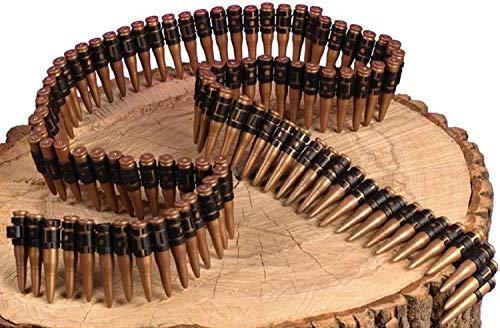Fancy Me Femmes Hommes Militaire Ceinture Munitions Ruban Costume Déguisement Accessoire