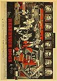 lubenwei Póster Retro De La Película De Quentin Tarantino Pulp Fiction Pond Dog Inglourious Basterds Poster Home Wall Room Decor 40x60Cm Sin Marco At-3664