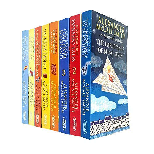 44 Scotland Street Series 8 Books Collection Set By Alexander Mccall Smith