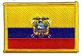 Aufnäher Patch Flagge Ecuador - 8 x 6 cm