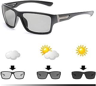 3126e6ba6c CCGSDJ Marca Gafas De Sol Fotocromáticas Hombres Decoloración Camaleón  Polarizado Gafas De Sol Al Aire Libre