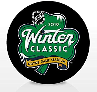 2019 Winter Classic from Notre Dame Stadium Souvenir Hockey Puck